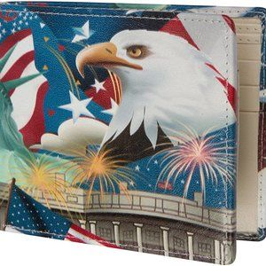 Access Denied Mens RFID Blocking Wallet Leather